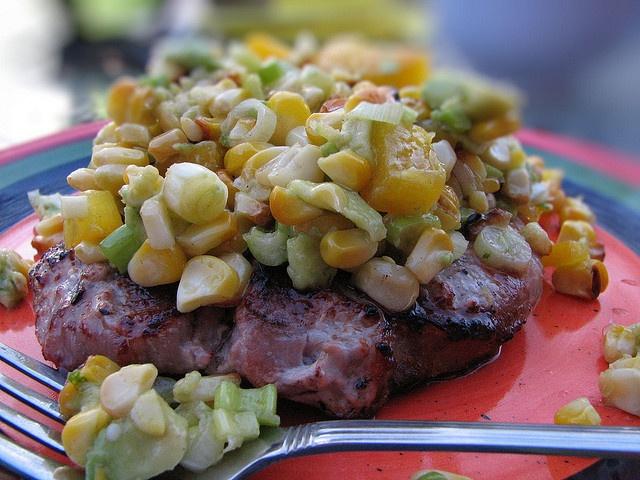 Roasted Corn Relish via La Mia Cucina, via Flickr