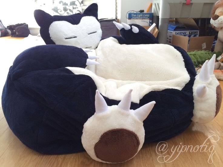 Snorlax bed diy amp crafts that i love pinterest