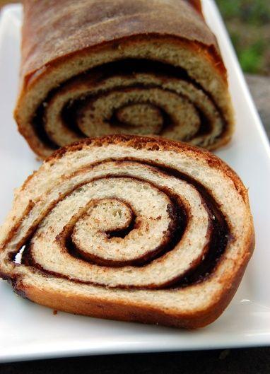 Homemade cinnamon swirl bread | Breads | Pinterest