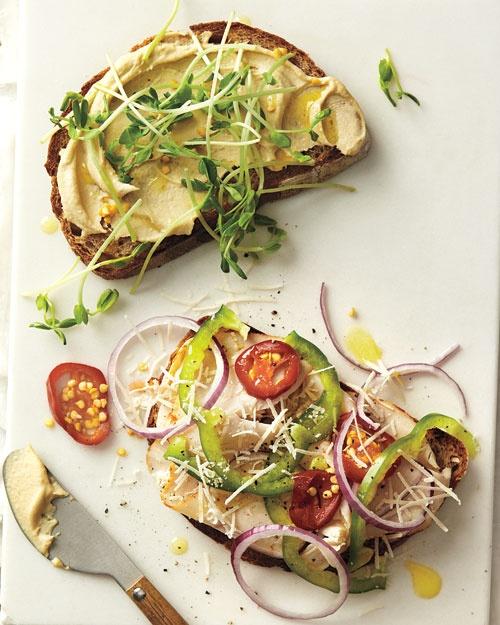 Turkey and Veggie Sandwich | Recipe