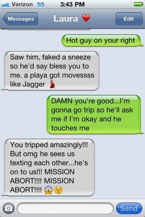 sounds like me and my bestie! lol