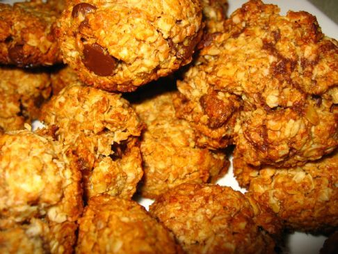 Oatmeal Honey Cookies.