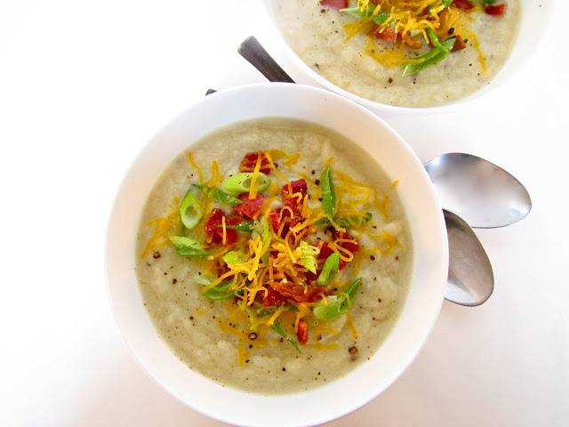 Creamy Cauliflower, Leek & Potato Soup Our lighter version of this ...