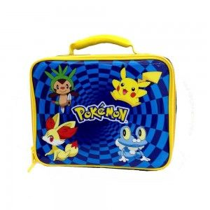 Lunch bag box insulated pikachu cool lunch box and lunch ba