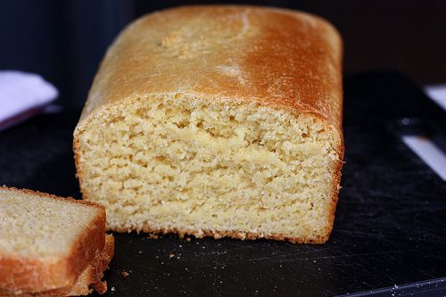 Yeasted Cornbread. Oh the sandwich possibilities...