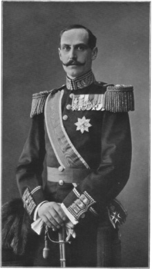 Haakon VII of Norway (1872 - 1957). Son of Frederick VIII and Louise of Sweden. He married Maud of Wales and had one son. He became King of Norway.