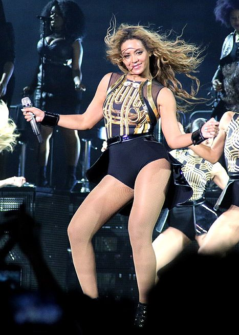 Beyonce Wears Skintight Jumpsuit, Dances Furiously Amid Pregnancy Rum