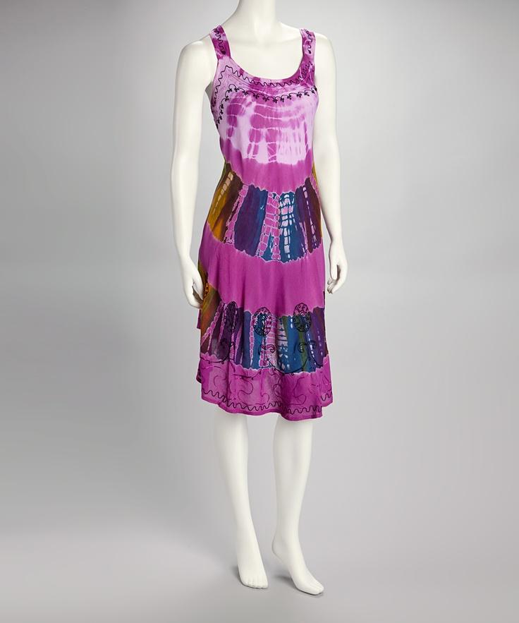 purple tie dye dress. Black Bedroom Furniture Sets. Home Design Ideas