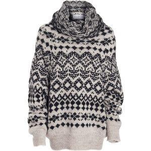 Yohji Yamamoto Fair Isle Sweater