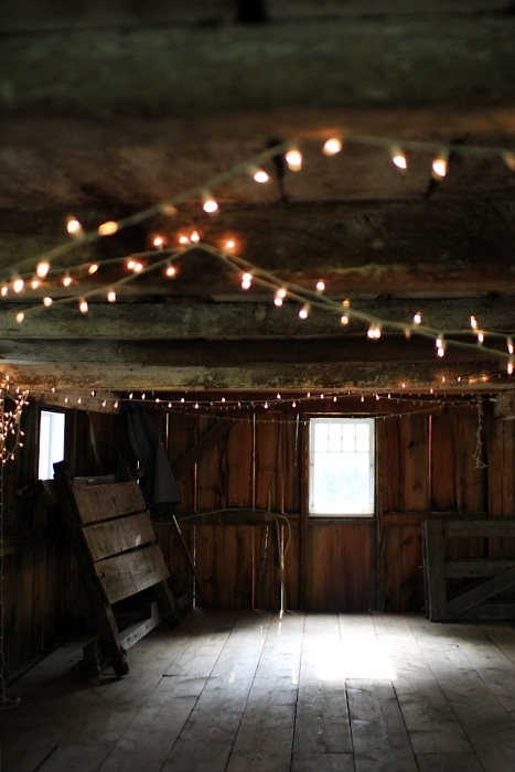 Barn Party Lights Party Ideas Pinterest