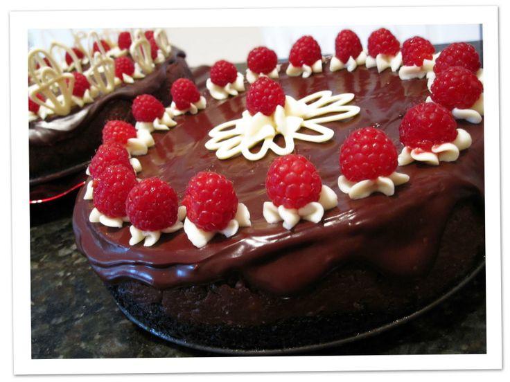 chocolate cheesecake decoration Wedding Cake #1 Pinterest