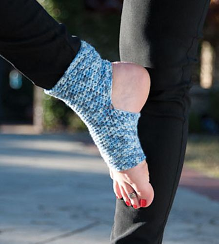 Crochet Yoga Socks : Ravelry: Aum Yoga Socks pattern by Shannon Mullett-Bowlsby