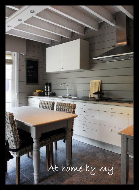 Steenstrips Achterwand Keuken : Hout op achterwand keuken Ideas For My New Home Pinterest
