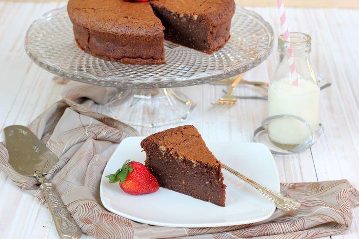 Flourless Chocolate Hazelnut Mud Cake