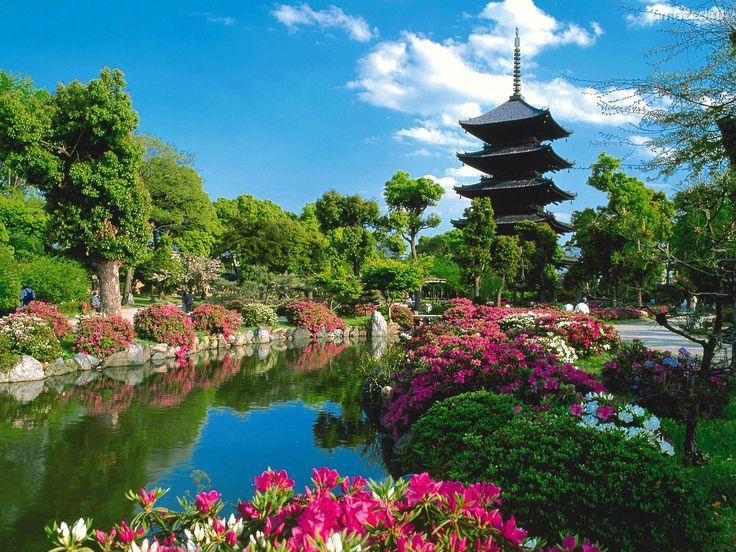 Beautiful japanese garden meditation space pinterest for Japanese garden meditation