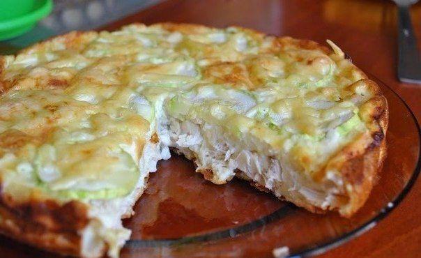 Пирог с курицей и сыром рецепт с в мультиварке