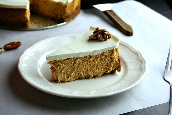 Scarborough FoodFair: Bourbon Pumpkin Cheesecake - thanksgiving