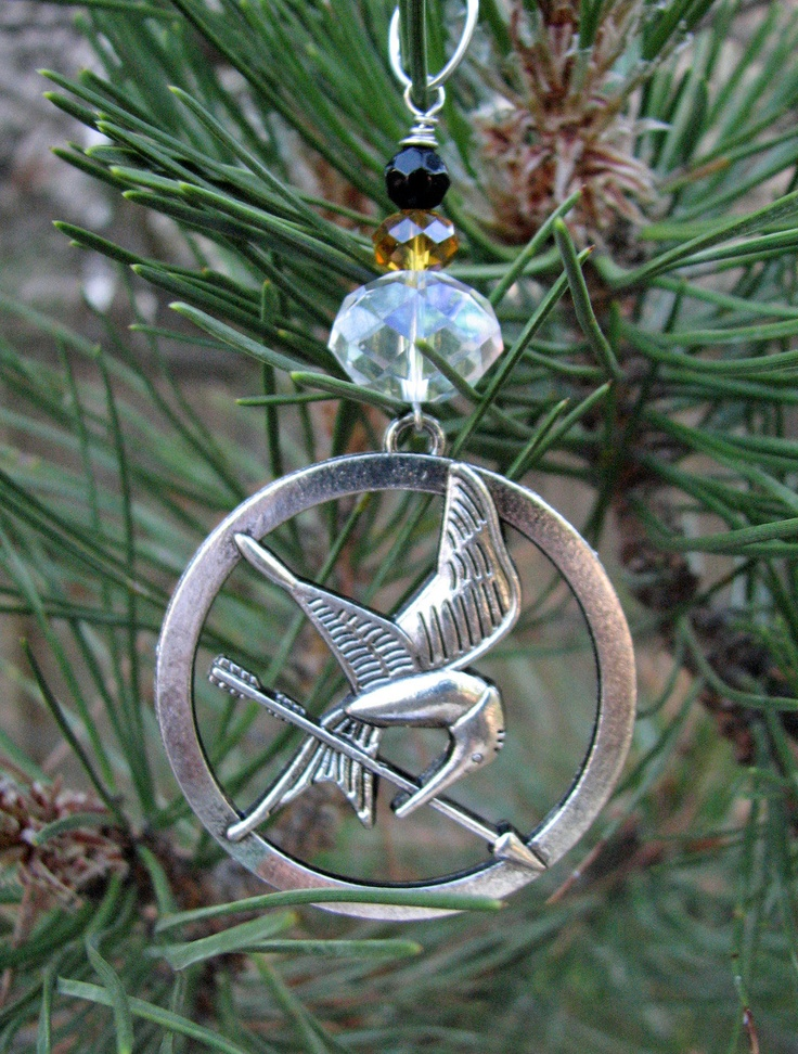 Mockingjay Christmas ornament