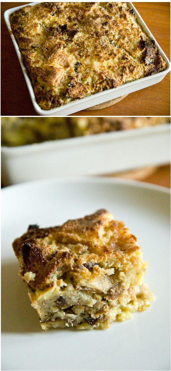 White Chocolate Bread Pudding Recipe — Dishmaps