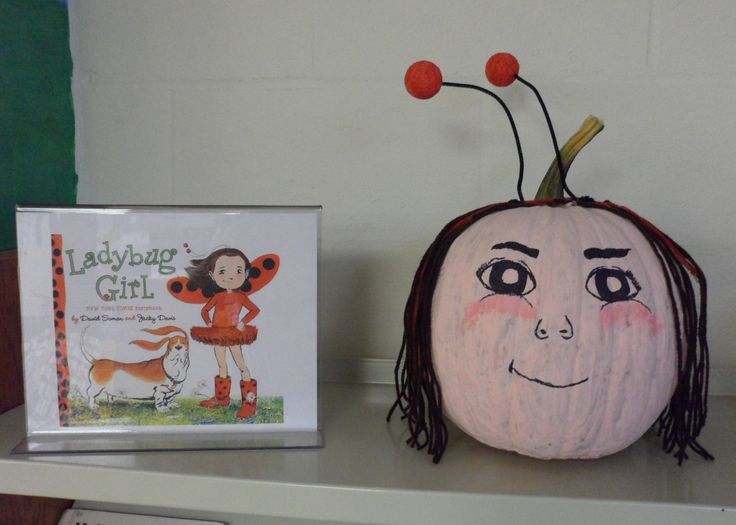 Ladybug Girl - Book Character Pumpkin (Pumpkin Painting 2013)