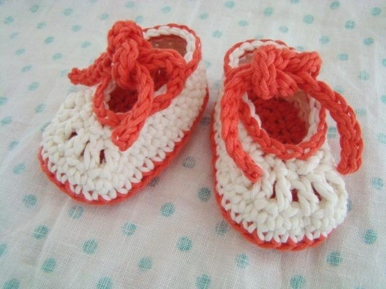 Crochet Baby Shoes - Tutorial. gehaakte schoentjes ...