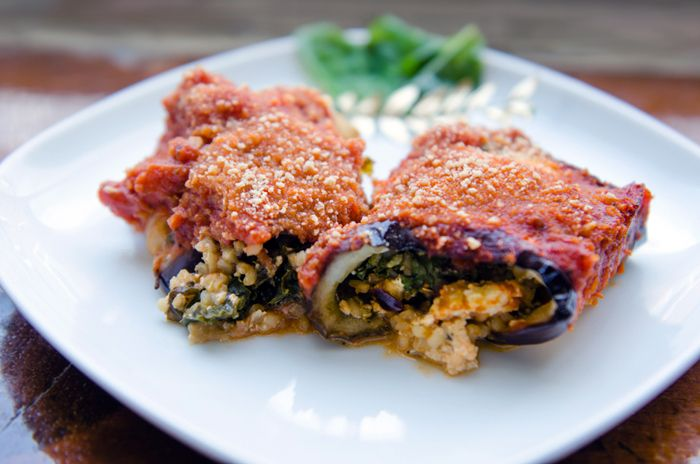 Vegan Eggplant Rollatini | food fitness fresh air