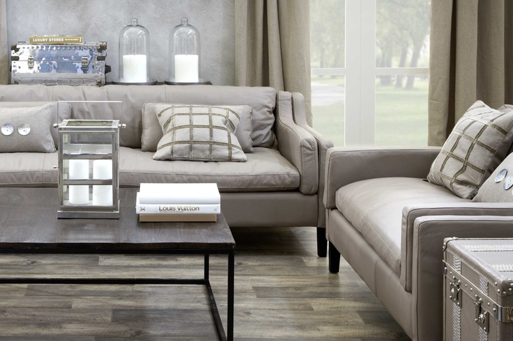 Leather - Leather Taupe Kelly Hoppen @ Artwood