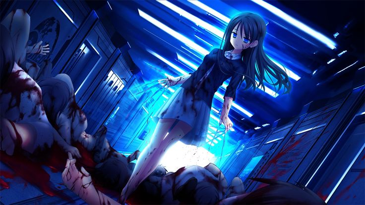 Bloody Anime School Girl | This little girl is capable of ... Bloody Dead Anime Guy