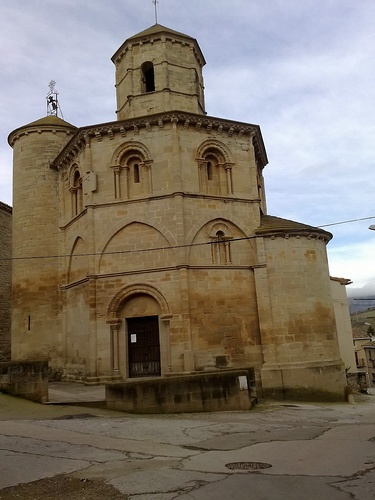 I will walk the Camino! Torres del Rio, Santo Sepulcro, a Knights Templar Church