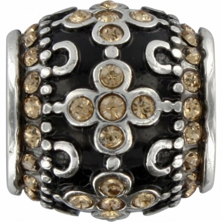 Brighton charm onyx ribbon bead brighton jewelry pinterest