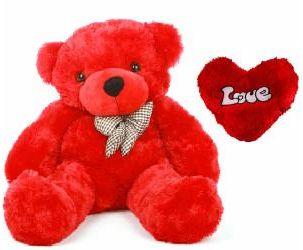 valentine's day red teddy bear