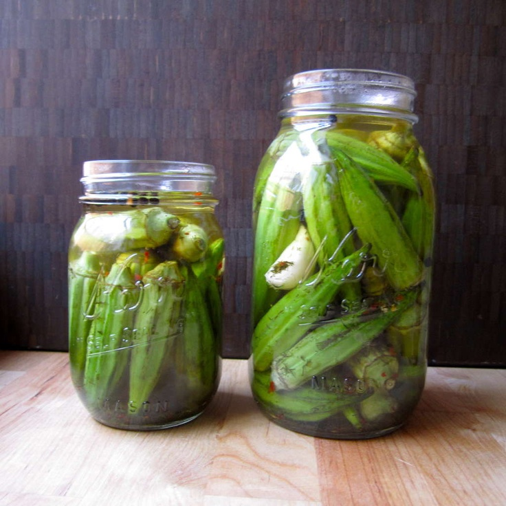 Pickled Okra | Canning | Pinterest