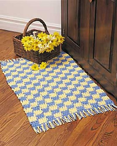 Free Crochet Rug Patterns : free crochet