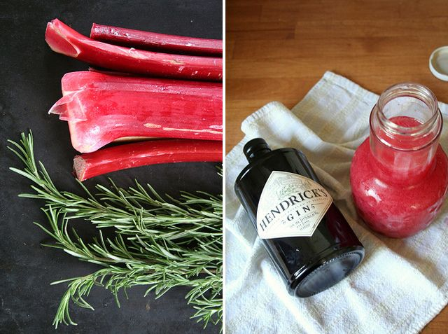 Rhubarb, Rosemary & Gin CocktailINCREDIBLY REFRESHING!For recipe visit ...
