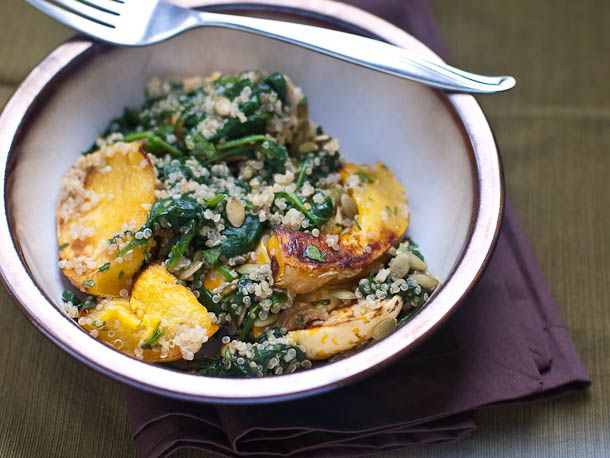 ... Crisper Whisperer: Squash and Quinoa with Cilantro-Lime Dressing