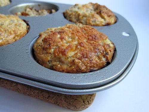 Sun-Dried Tomato Cottage Cheese Muffins | Recipes to Try | Pinterest