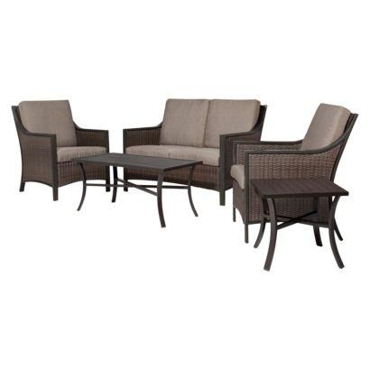 Threshold™ Casetta Wicker Patio Conversation Furniture Collection
