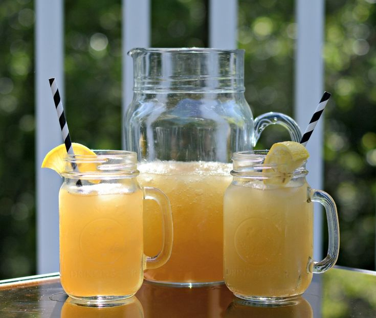 Whiskey Slush. A great Summer drink. Aunt Betty used to serve these ...