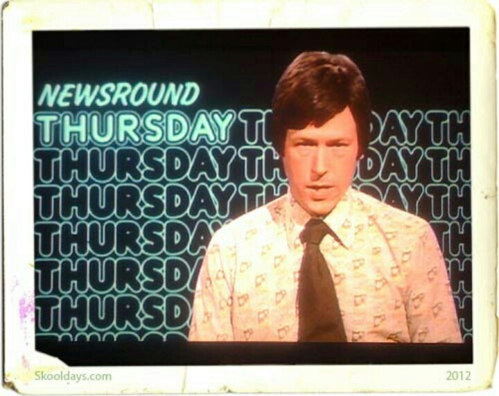 John Craven's Newsround | My childhood | Pinterest