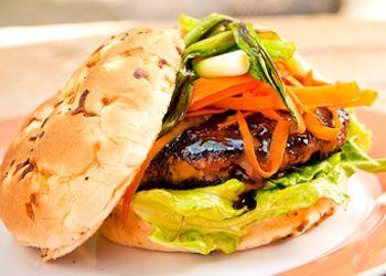 Mu Shu Pork Burgers | food and drink | Pinterest