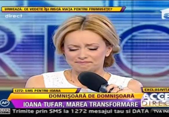 """Simona Gherghe, in lacrimi dupa scandalul Ioana Tufaru: """"Ma simt ca ..."""