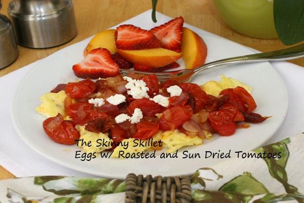 Eggs w/ Tomatoes and Feta   Yum   Pinterest