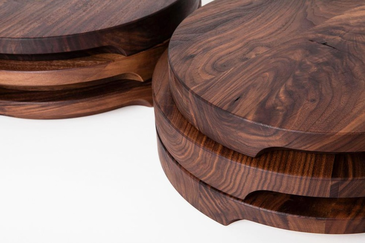 Cutting boards made in Canada by Christian Woo