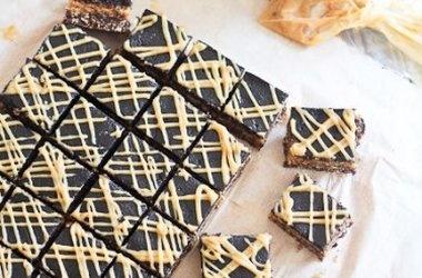 Triple Decker Peanut Butter Squares — Punchfork