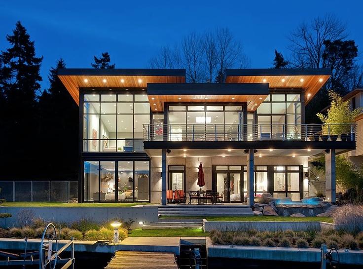 West Coast Architecture Modern House