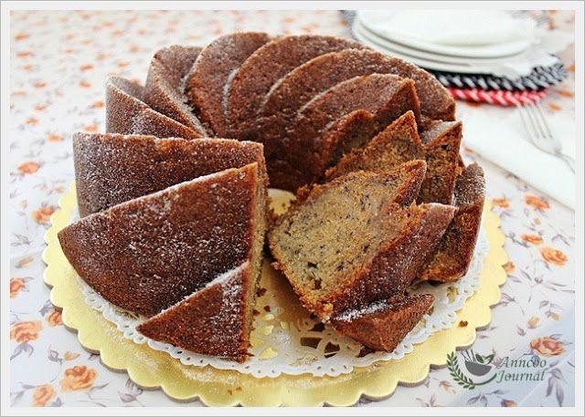 BundtAMonth: Best Banana Bundt Cake | Anncoo Journal