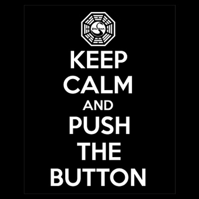 Push the button. Don't push the button. Bad. - smaller ghost Walt