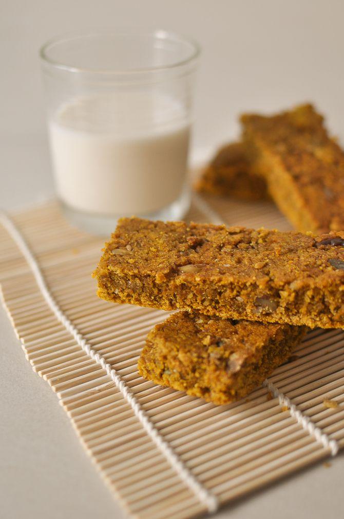 ... Pumpkin Flapjack Bar http://www.foodrecipeshq.com/pumpkin-flapjack-oat