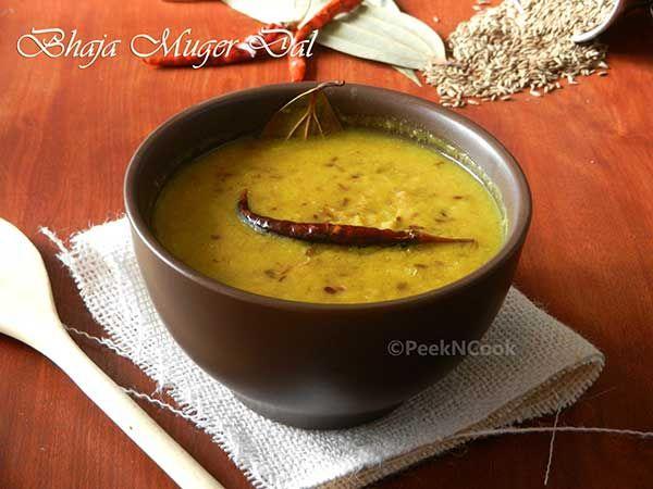 Bhaja Muger Dal Bengali Style(Roasted Mung Dal)/Bengali Mung Dal