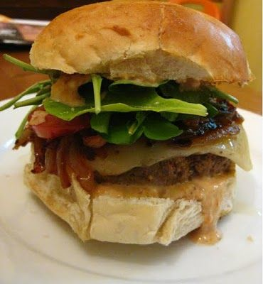 Ultimate Sriracha Burgers | Sandwiches and Wraps | Pinterest
